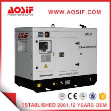 20kva white small silent diesel generator price