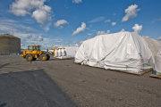 portable garage fabric, carport fabric, storage building fabric