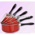 5 Pcs durabel staineless babelite sauce pan sets/milk pot/soup pot