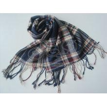 New Style Fashion Tartan Lenço Lã Para Homens