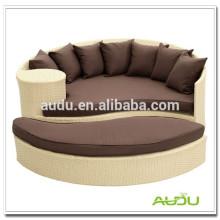Audu Green Resin Wicker Outdoor Waterproof Beach Bed