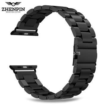 Black Stainless Steel Band for apple watch 42mm
