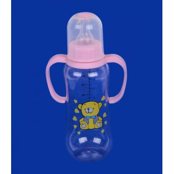 Transparent Cover PP Feeding-bottle with Vent System 180ML