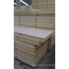 Панели белый цвет PU для Панели стены холодной комнаты и потолочные панели