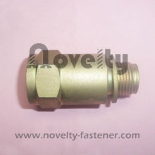 Brass Fitting with female and male thread