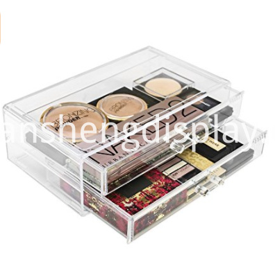 Acrylic Cosmetics Makeup Storage Case