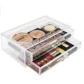 Transparent Acrylic Cosmetics Makeup Jewelry Case Display