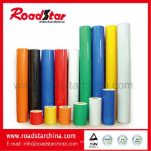 PET engineering grade reflective sheeting for safe