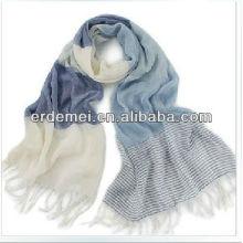 Модные полоски мужской зимний шарф хлопок