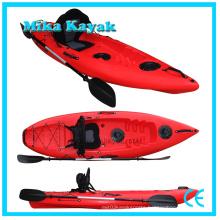 Single Plastic Canoe Kids Paddle Boat Kayak Baratos Wholesale