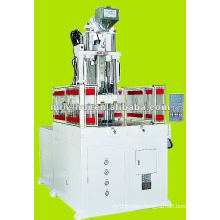 high speed servo motor rotary plastic injection mold machine 55T~75T