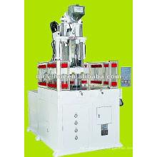 Servo motor de alta velocidade rotativo máquina de moldagem por injeção plástica 55T ~ 75T