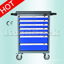 supply 7 drawers tool trolley