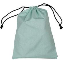 Wholesale reusable custom canvas cotton linen drawstring pouch bag
