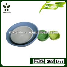 Recycling-Bambus-Salatschüssel