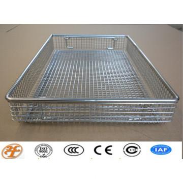 stainless steel medical mesh basket