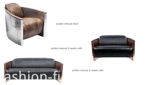 Aviator Tomcat 3 Seater Sofa