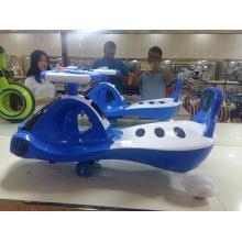 Nuevo modelo popular de niños de diseño Swing Car y Kids Twist Car Ride en coche