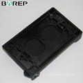 BAO-001 Schwarze oder kundenspezifische Schalterabdeckung aus wasserdichtem Kunststoff