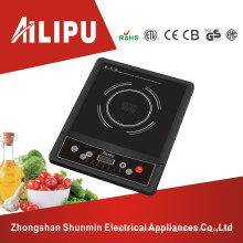 CE/CB Certificate Plastic Fram with Button Control Induction Cooktop 2kw
