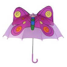 Manuelle Open Butterfly Shape Kinder Regenschirm (BD-75)