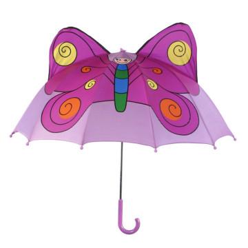 Ручной открытая форма бабочки Дети Umbrella (BD-75)