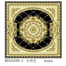 Fábrica de azulejos de cristal 300X300 com ouro em Guangxi (BDJ60288-5)