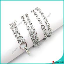 Cadena de plata Rolo para encantos flotantes cadena Locket (FN16040840)
