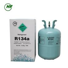 Buen precio del gas refrigerante de alta calidad R134a hfc-R134a Cilindro irrellenable 13.6kg Acidez 1PPM de HUAFU