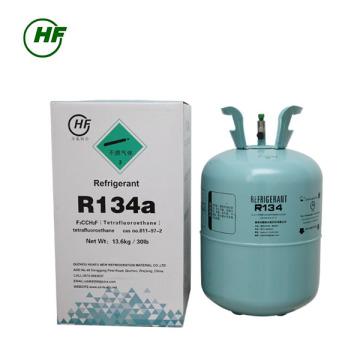 99.9% hecho en el cilindro recargable de China R134a gas