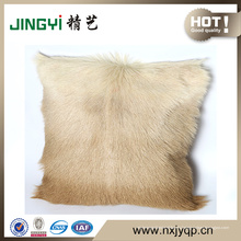 Almohadas de piel de cabra de moda