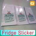Fridge Sticker