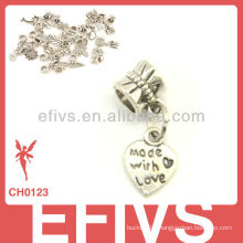 2013 New Fashion heart-shaped charms 925 silver pendant charms