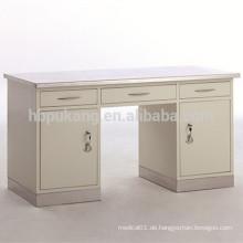 Edelstahl und Obertisch aus rostfreiem Stahl