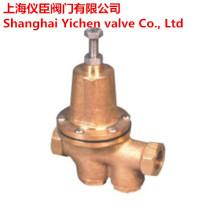 Válvula redutora de pressão de membrana de ação direta