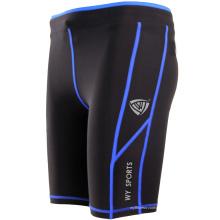 Estoque quente homens cinza shorts nylon spandex src-105