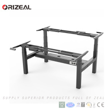 Factory wholesale Adjustable height Modern Office Desk two Person sit Stand Desk