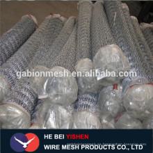 Bajo precio galvanizado cadena cerca Anping fabricante
