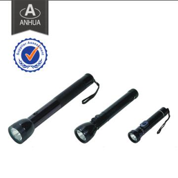 Linterna recargable de alta potencia LED de la policía