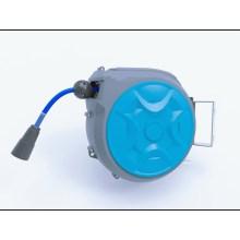 Enrollador de manguera de compresor de aire retráctil automático giratorio