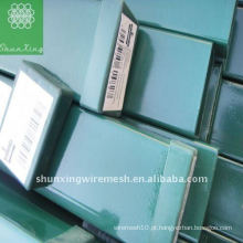 Postes de vedação galvanizados quadrados