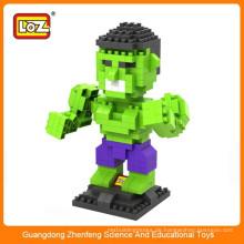Heißer Verkaufs-Minikarikatur-Charakter Loz Spielzeug-Block für Kinder
