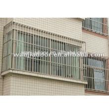 wanjia novo design segurança french window grill design