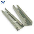Free Sample HDG Steel Slotted C Channel, Galvanized Slotted C Channel