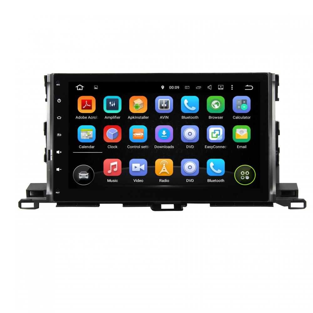 Android car DVD for Toyota Highlander 2015