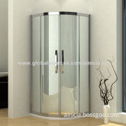 Quadrant Shower Enclosure with High Grade 304 Stainless Steel Guideway and Channels