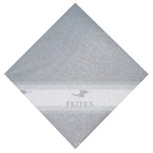 FEITEX Niedriger Preis Solide Afrikanische Regelmäßige Gele Kopf krawatte Partei Jubilee Nigeria Stoff 1 teil / paket