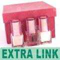 Luxus-neue Produkt-Pappe Ihr Logo-Nagellack-Gel-Lack-Geschenk-Verpackenkasten