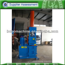 Hydraulic baling press for used can