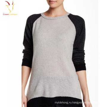 Женщины Повседневная С Длинным Рукавом Лодка Шеи Блузка Рубашка